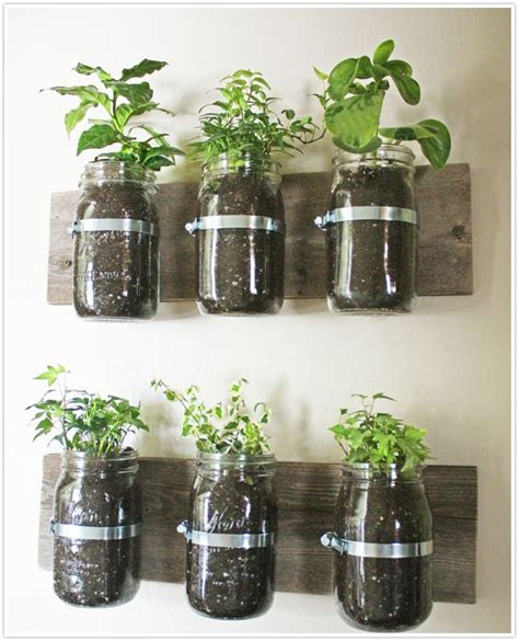 transformed hanging herb garden camille styles