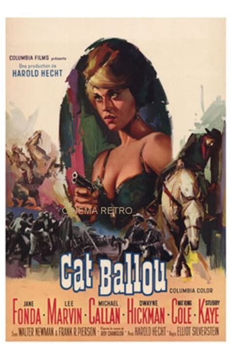 Rare French Release Poster Of Jane Fonda In The 1965