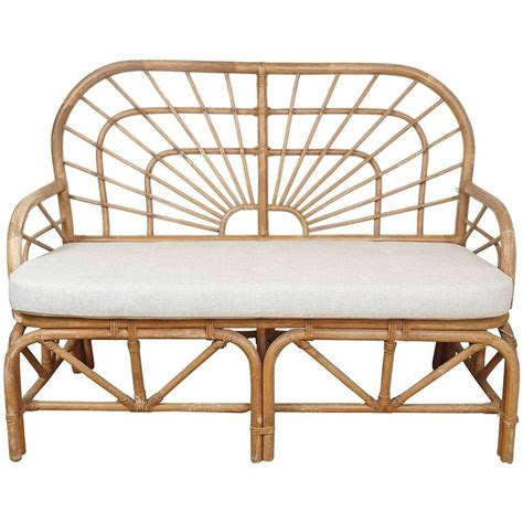 Wicker Loveseat For Sale by Rattan Loveseat For Sale At 1stdibs
