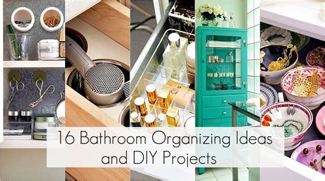 how to organize a small kitchen 16 bathroom organization ideas and diy projects diy 9498
