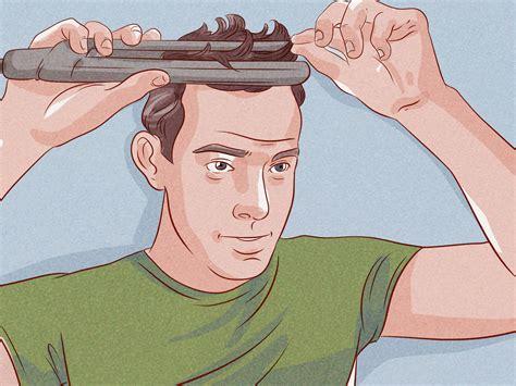 ways  style medium length hair  men wikihow