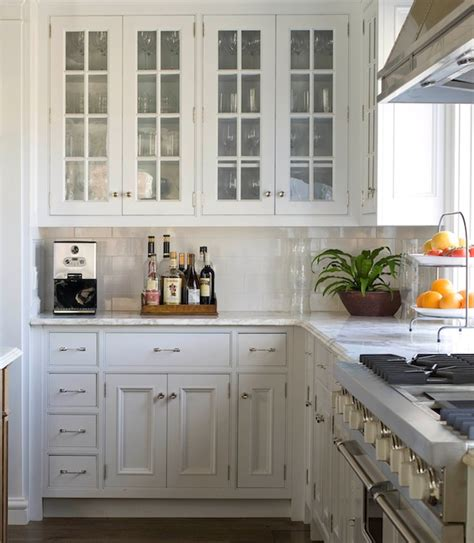 white glass front kitchen cabinets glass front kitchen cabinets traditional kitchen 1768