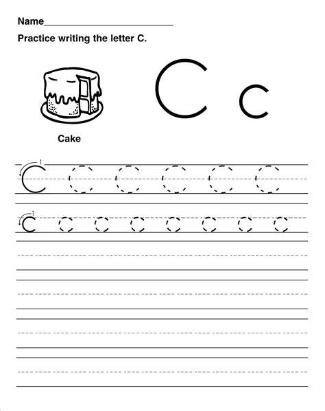 letter c worksheets trace the letter c worksheets activity shelter 22785 | trace the letter c for kids