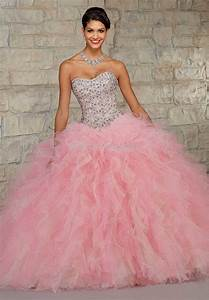 white and pink quinceanera dresses 2015 Naf Dresses