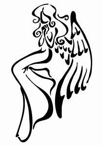Simple Angel Drawing At Getdrawings