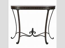 Safavieh American Home Half Round Sofa Table & Plant Stand