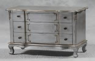 Shabby Chic Dining Room by Shabby Chic Silver Leaf 3 Drawer Chest Furniture Simply