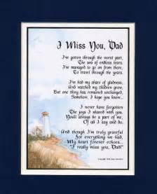 I Miss You Dad Poems