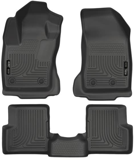 floor mats jeep husky weatherbeater all weather floor mats for 2015 2016 jeep renegade ebay