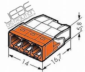 Wago 2273 203 : borne wago 2273 203 ultra compact 3x0 5 transp orangejede ~ Orissabook.com Haus und Dekorationen