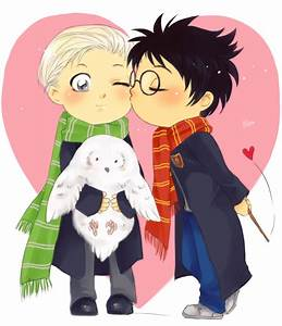 Drarry 4 by Lin... Drarry Cute