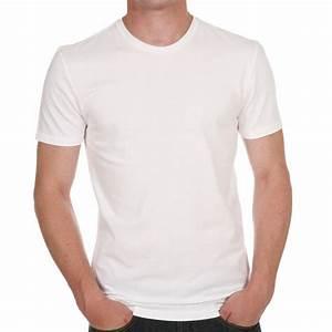 T Shirt Homme Blanc : lot de 2 tee shirts levis slim fit crewneck en coton blanc rue des hommes ~ Melissatoandfro.com Idées de Décoration