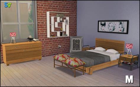 boston bedroom set  mango sims sims  updates