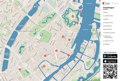 Carte De Touristique à Imprimer by Copenhague Carte Touristique Imprimable Sygic Travel
