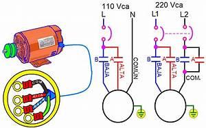 Coparoman  Control Para Un Motor Monof U00e1sico De Dos Velocidades
