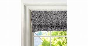 The fun dot pattern on this cordless roman shade ($119