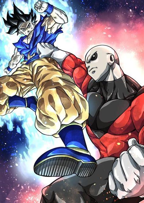 goku  jiren personagens de anime dragon ball gt