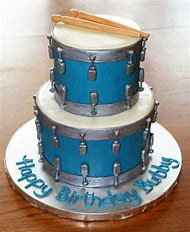 Drum Birthday Cake Ideas