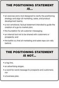 resume positioning statement exles the aha factor positioning so your audience gets it the marketing high ground