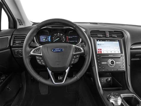 2017 Ford Fusion Sedan 4d Titanium I4 Hybrid Prices