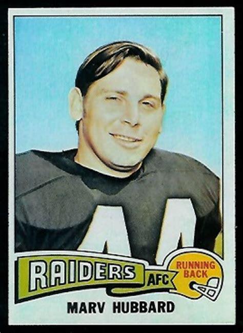 marv hubbard  topps  vintage football card gallery