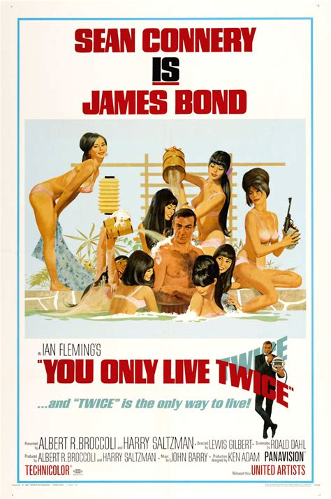 You Only Live Twice DVD Release Date