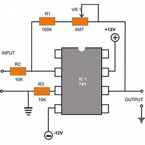 op amp 741 ic pin diagram operational amplifier With op amp diagram
