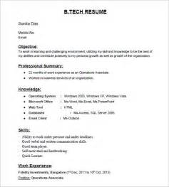 best resume format for b tech freshers pdf converter 28 resume templates for freshers free sles exles formats download free premium
