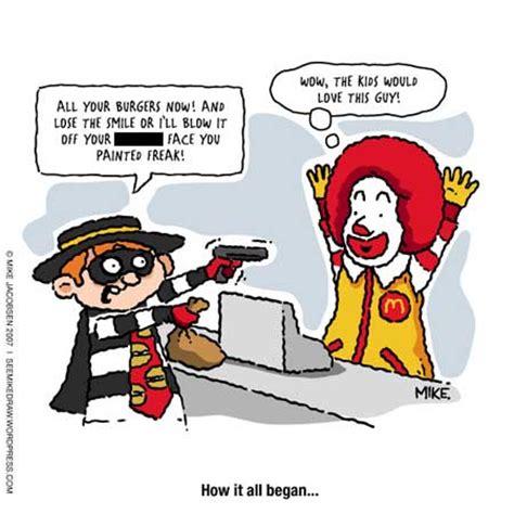 kfc siege social mcdonald s mondays birth of a hamburglar canadian