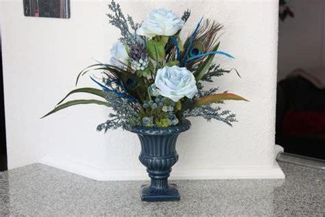 Handmade Silk Flower Arrangement