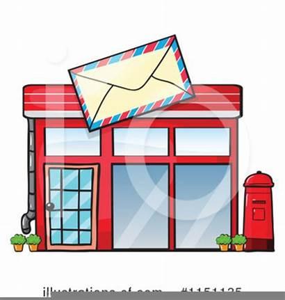 Clipart Office Building Clip Clker Mail Places
