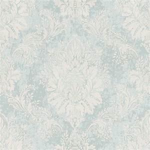 barock tapete pastell ornamente klassisch rasch tapete With balkon teppich mit rasch ornament tapete