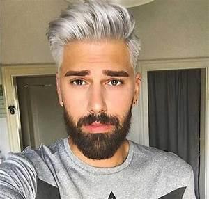 Graue Haare Männer Trend : grau haar farbe am coolsten kerle auf dem planeten m nner frisuren ~ Frokenaadalensverden.com Haus und Dekorationen