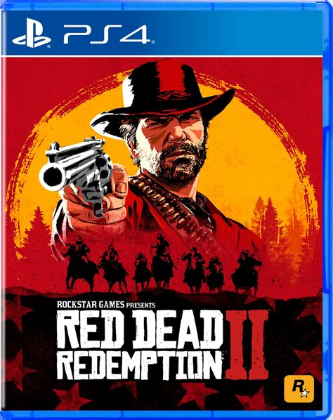 Red Dead Redemption 2s Ps4 Box Art Is Very Striking