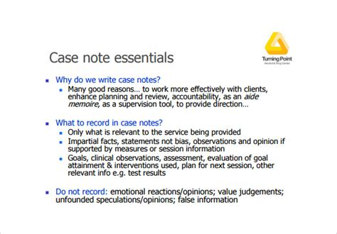 case notes notes template 7 free word pdf documents free premium templates