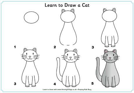 learn  draw  cat