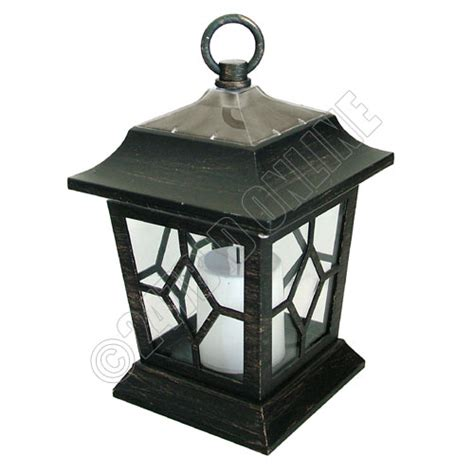 2 pack outdoor solar flickering led candles lanterns coach
