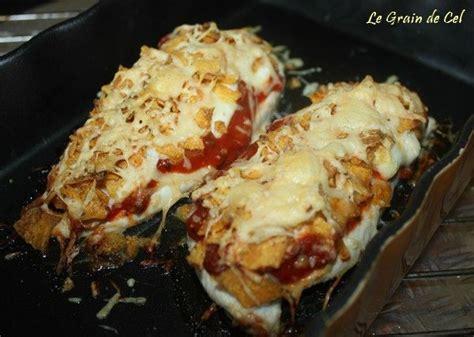 cuisiner des filets de poulet filets de poulet gratinés aux tortillas chips sucre cel