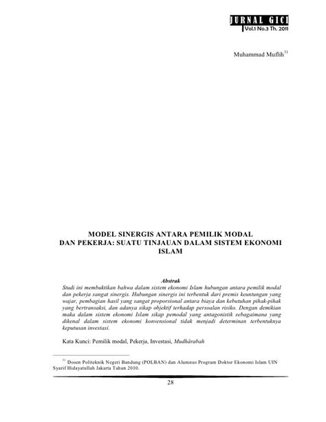 Jurnal vol.1no.3 th to e journal