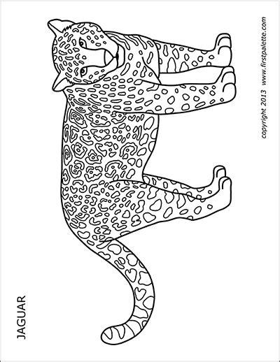 cheetah  printable templates coloring pages