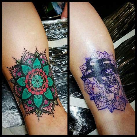 mandala cover  tattoos pinte
