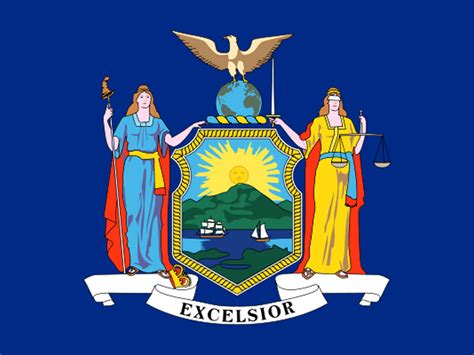 new york state colors state flag of new york usa american images