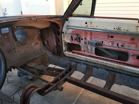 frame   dodge charger project car  sale