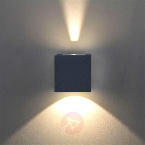 applique moderne led applique d ext 233 rieur led jarno coloris graphite luminaire fr