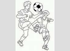 Football Coloring Pages Coloringpages1001com