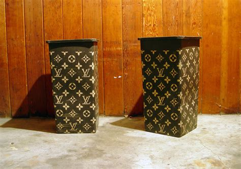 The Finished Product Louis Vuitton Trash Cans Flickr