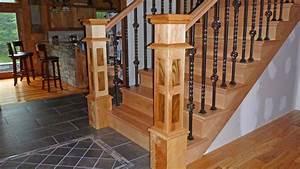 Handmade Custom Stair Newel Posts by J L Ross Custom