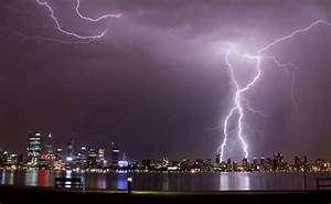 Unseasonal Lightning Storms In Perth Wreaking Havoc West