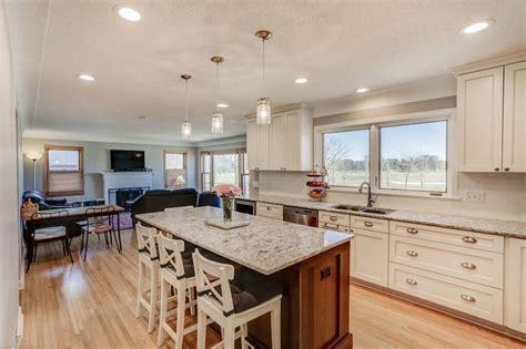 Remodel Kitchen Island Ideas - open concept kitchen remodel minneapolis titus contracting