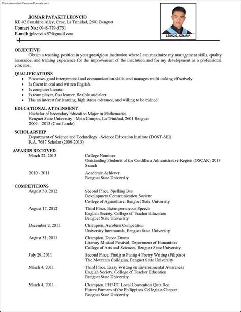 Comprehensive Resume Template | Free Samples , Examples & Format Resume / Curruculum Vitae